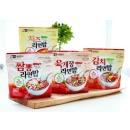 두리두리 전투식량 라면밥 4종(4개) 세트 1세트