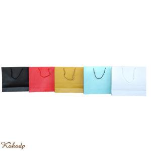 로고인쇄 로고각인 종이가방 쇼핑백 종이 100개 묶음
