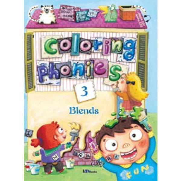 COLORING PHONICS(3) - BLENDS  아이엠북스   편집부