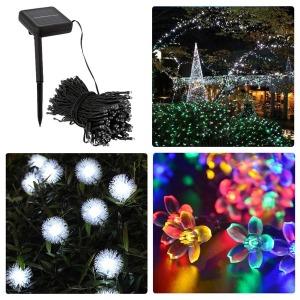 태양광 LED 트리등 조명등 줄조명 조명 정원등 장식등