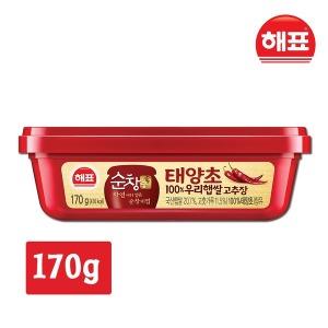 순창궁 태양초 100%우리햅쌀 고추장 170g 순창