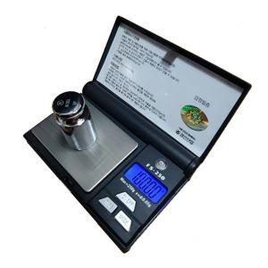 경인 고정밀 포켓 전자저울 FS-250/FS-500 국가검정필