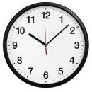 무소음 31cm 블랙 벽시계 인테리어벽시계 거실벽시계
