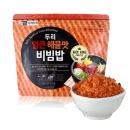 전투식량 얼큰해물비빔밥 137.5g 씹히는 맛이 일품