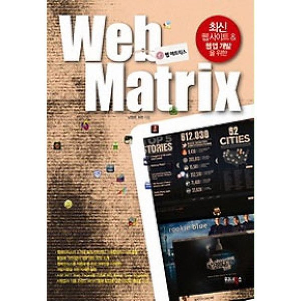 웹 매트릭스 (Web Matrix)  워너북스   남정현  허찬