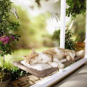 고양이 써니시트 창문 윈도우 실내 해먹 캣타워 - 상품 이미지