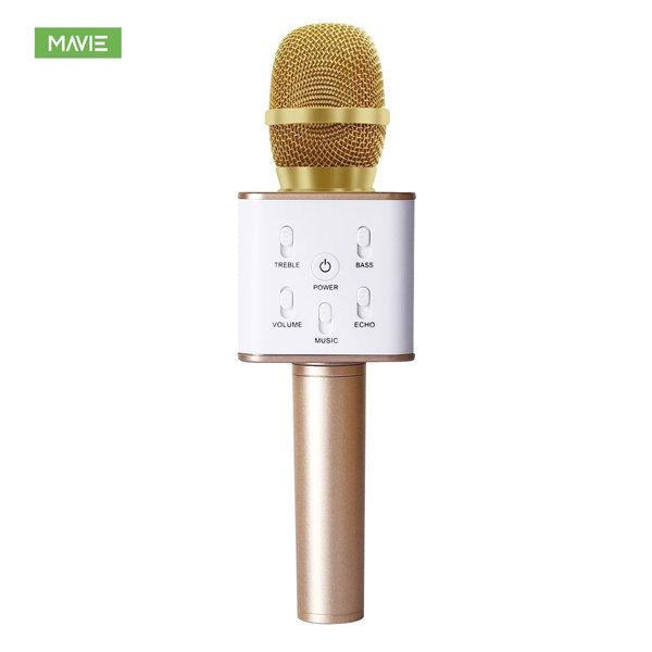 MAVIE Q7 고음질 카라오케 기기 wireless마이크