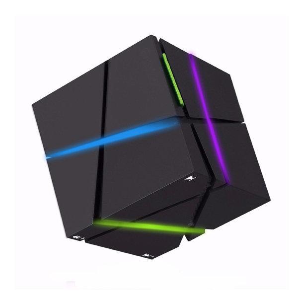 ELEGIANT Bluetooth스피커 LED라이트 탑재 미니 큐브