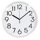 337 무소음벽시계 화이트 대형벽시계 인테리어벽시계