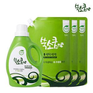 친환경 마크 인증 세탁세제/액체세제 1.8L + 1.6L x 3