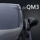 QM3 에나멜 성에방지커버 앞유리커버 햇빛가리개
