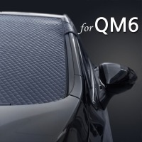 QM6 에나멜 성에방지커버 앞유리커버 햇빛가리개