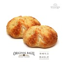 (미국) 아지아고 치즈 베이글 113gx6개 냉동빵 생지