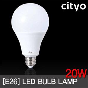 씨티오 LED 벌브 20W E26