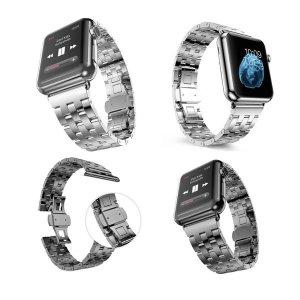 애플워치 시계줄 밴드 스틸 가죽 메탈 체인 애플 와치
