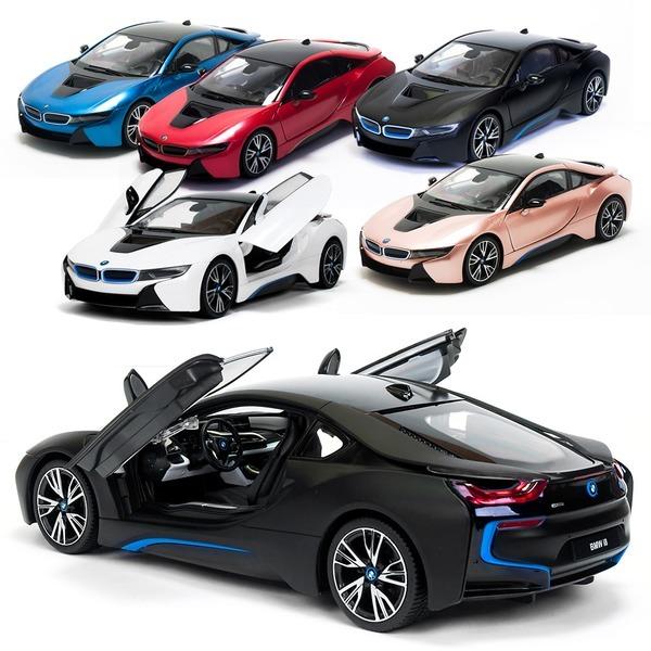 충전식 BMW i8 차량 문열림 기능/rc카/무선자동차