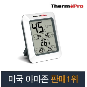 플램 ThermoPro 디지털 온습도계 정밀온습도측정 TP50