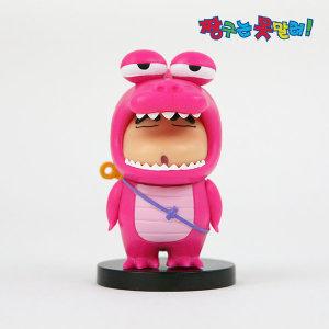 정품 짱구 미니피규어 공룡 짱구+스탠드