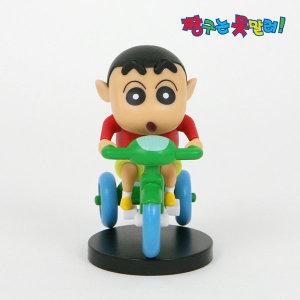 정품 짱구 미니피규어 자전거 짱구+스탠드