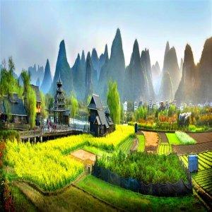 (전용상품)중국 제일의 산수 계림