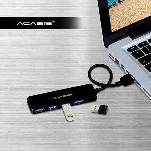 USB 3.1 무/유전원 겸용 4포트 20/60/120cm 허브