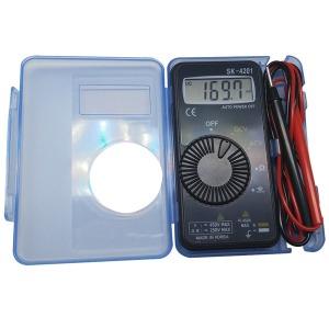 SK-4201 국산 포켓 테스터기/멀티메타/미터/매다/전기