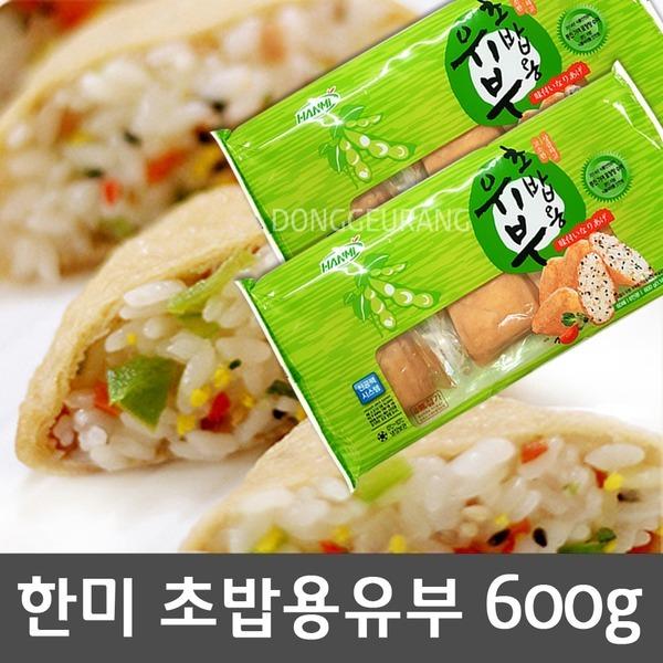 한미 초밥용유부 600g(60매) /유부초밥/초밥용 유부
