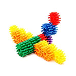 KC인증 창의력 톱니바퀴 블록 블럭 장난감 교육완구