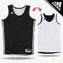 아디다스 농구 리버시블 양면 민소매 나시 E71815 블랙화이트