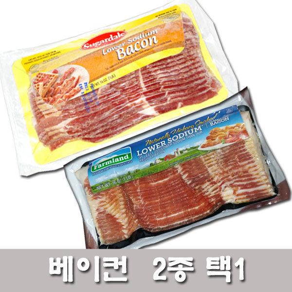팜랜드베이컨/슈가데일 베이컨453g/호멜베이컨/