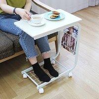 사이드 테이블 이동식 조립식 가정용 거실 쇼파 탁자