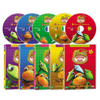 DVD 다이노소어 트레인 Dinosaur Train 5종세트    사은품증정 DVD 가죽 보관함