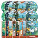 DVD 바다탐험대 옥토넛 OCTONAUTS 1집 16종세트 사은품 (생물 카드 29종+포스터)