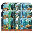 DVD 바다탐험대 옥토넛 OCTONAUTS 2집 20종세트 사은품 (생물 카드 29종+포스터)