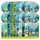 DVD 바다탐험대 옥토넛 OCTONAUTS 3집 20종세트 사은품 (생물 카드 29종+포스터)