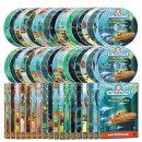 DVD 바다탐험대 옥토넛 OCTONAUTS 1+2집 36종세트 사은품 (생물 카드 29종+포스터)