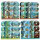 엠앤브이 / DVD 바다탐험대 옥토넛 OCTONAUTS 1+2+3+4집 사은품 (생물 카드 29종+포스터)