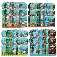 DVD 바다탐험대 옥토넛 OCTONAUTS 1+2+3+4집 사은품 (생물 카드 29종+포스터)