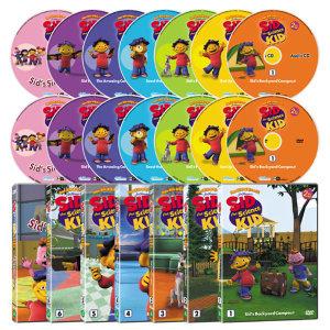 DVD New 꼬마 과학자 시드 2집 14종세트 사은품증정