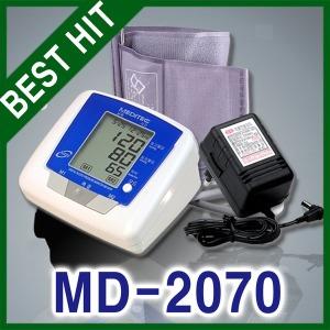 국산 메디텍 전자혈압계 MD-2070(어답터 포함)/혈압기
