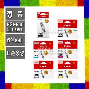 PGI-980 CLI-981/6색/PIXMA TS8195 TS8190 마미포토