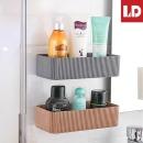 욕실선반 다용도부착선반 스트라이프다용도선반 화이트