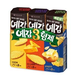 예감 3형제(오리지널+치즈그라탕+갈릭버터) 3세트(9개) - 상품 이미지