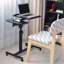 OMT 이동식 노트북 테이블 상하각도조절 ONA-402 블랙