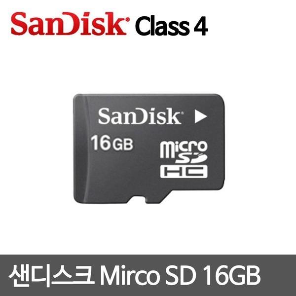 샌디스크 Micro SD카드 16GB 4Class