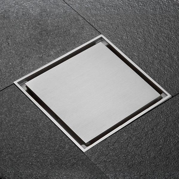 고급 트랜치 스퀘어 니켈 100x100 육가/배수구/드레인
