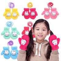 눈감은토끼 아동 벙어리장갑/유아용장갑 유치원선물