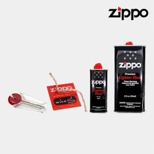 ZIPPO 지포라이터소품모음/부싯돌/심지/오일/기름/GC