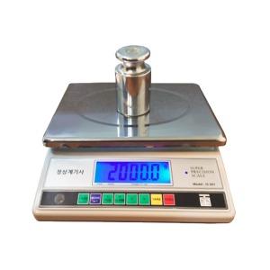 WESS JS-301 고정밀 전자저울 최대30kg 0.1g단위