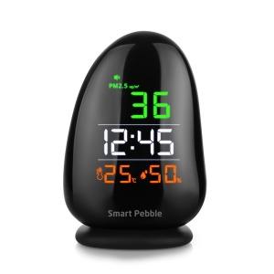 스마트페블 PM-01 초미세먼지측정기 온습도계